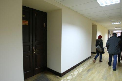 Митингующие отремонтировали третий этаж Киеврады (фото)