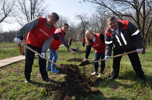 Акцию «Чистый город» от Метинвеста поддержали тысячи волонтеров и краснодонцев