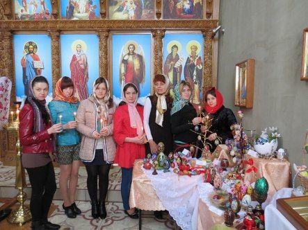 В луганском вузе презентовали вставку крашанок, писанок и мальованок (фото)