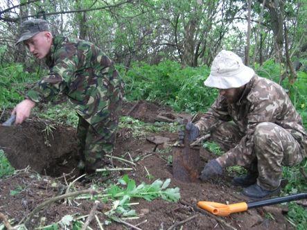 Поисковики в Луганской области в рамках Вахты Памяти нашли почти 60 не захороненных останков красноармейцев (фото)