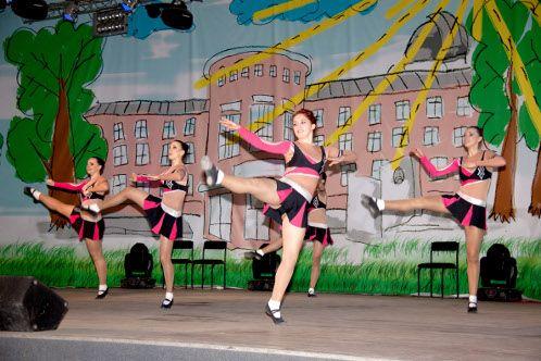 В Луганске выбрали Мисс Аэробику (фото)